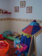 A gyerekszoba helyén került kialakításra a háló.