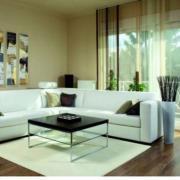 A nappalid lehetőleg legyen szellős, levegős elrendezésű, kerüld a zsúfoltságot! Ha kisebb is a helyed, világos színekkel a tágasság érzetét keltheted.