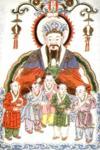 """Az ősi Kínában úgy gondolták, hogy a konyha és a tűzhely kedvező elhelyezésével kedvükbe járnak a """"konyha istenének""""."""
