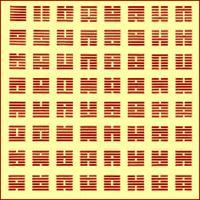 Az ősi kínai bölcsesség és filozófia gyűjteménye. A felhalmozott tudást 64 hexagramon keresztül, szimbolikus formában jeleníti meg. Bölcs értelmezéseivel útmutatást ad életünk bármely időszakában. A tanács mindig az adott időpontban érvényes helyzetre és személyre vonatkozik.