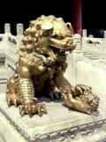 Kapuvédő oroszlánok