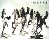 Valamennyi ló csodálatos és rendkívüli képességekkel rendelkezett: egyiknek szárnya volt, a másik tízezer mérföldett tett meg egy éjszaka alatt, a harmadik úgy vágtázott, hogy lába nem érte a földet.