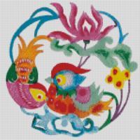 Kínában a menyasszonyi ruhákra gyakran festenek, hímeznek mandarin kacsapárt.