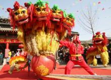 Az oroszlántánc szokása közel ezer éves Kínában.